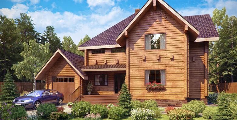 Дом из клееного бруса: воплощение мечты