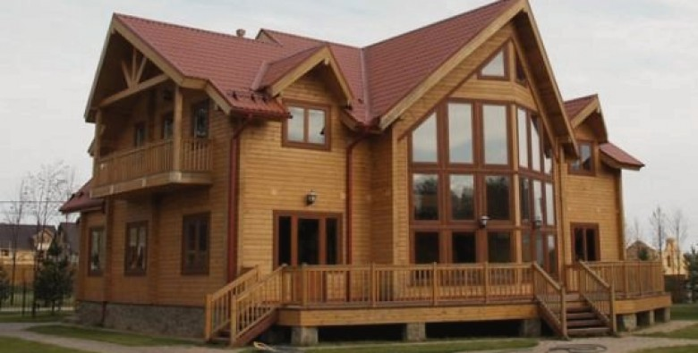 Дома из бруса: основные достоинства